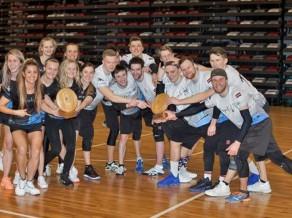 Salaspils komandām dubultuzvara Latvijas čempionātā telpās