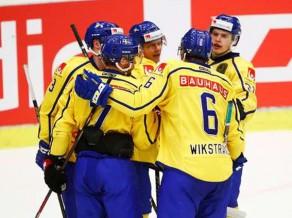 Pārbaudes spēles: Zviedrija sakauj Dāniju, Norvēģija neiemet Krievijas B izlasei