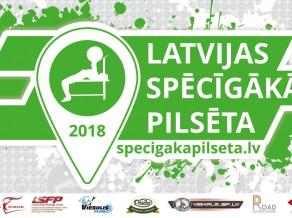 """Jau piekto gadu norisināsies sacensības """"Latvijas Spēcīgākā pilsēta"""""""