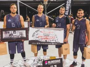 """""""Ghetto Basket"""" otro ceļazīmi uz """"Quest"""" finālu iegūst """"LSA""""'"""