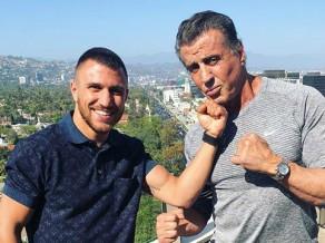 """Stallone: """"Lomačenko ir labākais bokseris pēdējos 50 gados"""""""