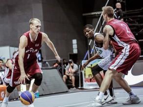 """Latvijai neizdodas trāpīt no distances, """"Challenger"""" 3x3 posmā Ķīnā zaudējot 1/4 finālā"""