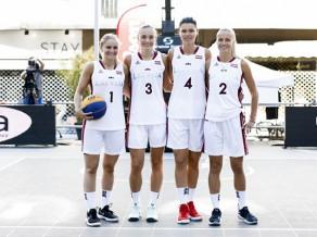 Latvijas 3x3 basketbolistes neizmanto lielisku iespēju un nepārvar EK kvalifikāciju