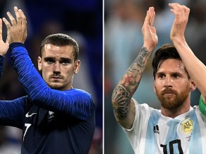 Milžu cīņa: Francija un Argentīna ievadīs Pasaules kausa izslēgšanas spēles