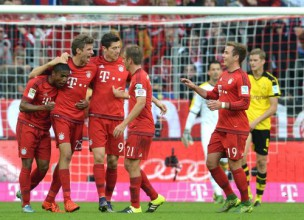 """""""Bayern"""" varenais uzbrukums satriec arī Dortmundi - 5:1"""