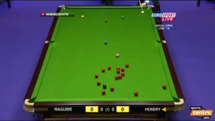 "Video: Hendrija maksimums ""Welsh Open"""