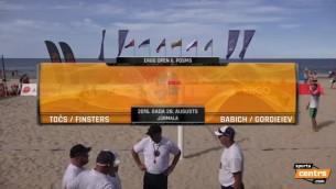 Video: Točs/Finsters aizraujošā mačā izcīna 3. vietu pēdējā ERGO Open posmā