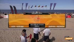 Video: Lece/Ozoliņa bezcerīgi zaudē Krievijas duetam, paliek 4. vietā