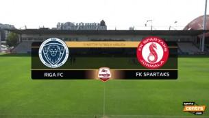 Video: ''Spartaks'' nespēj paņemt trīs punktus pret ''Riga''
