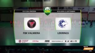 Video: ''Lekrings'' pārliecinoši uzvar ''Valmieru''