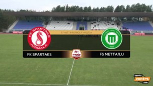 "Video: ""Spartaks"" uzvar ""Mettu"" un turpina cīņu par čempionu titulu"