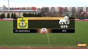 """Video: """"Ventspils"""" nespēj pieveikt RFS, zaudē cīņā par sudrabu """"Jelgavai"""""""