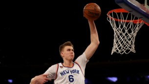 "Video: Porziņģis triumfē ""Knicks"" sezonas topā"