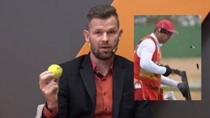 Video: Kā Ostapenko dāvātās bumbiņas uzlabo stenda šāvēja Upelnieka sniegumu?