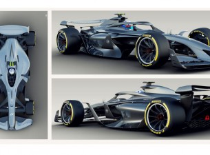 """""""Formula 1"""" prezentē vīziju par 2021. gada sacīkšu mašīnām"""