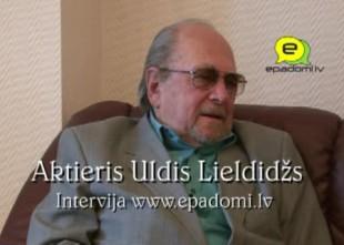 Video: ''Es nemēdzu aprunāt cilvēkus, kuru nav klāt'': intervija ar aktieri Uldi Lieldidžu