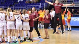 U19 meitenes Pasaules kausa C grupā pret Franciju, Kanādu, Koreju