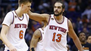 """Ņujorkas """"Knicks"""" apsver Porziņģa iespēlēšanu kā starta sastāva centru"""
