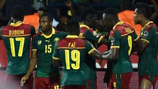 Kamerūna uzvaras vārtus gūst 72. minūtē un iekļūst ĀNK finālā