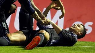 """Ronaldu kaldina uzvaru, Madrides """"Real"""" stiepjas pēc """"La Liga"""" titula"""