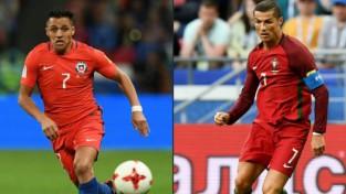 Dienvidamerikas un Eiropas čempioņu sadursme Kazaņā – Čīle pret Portugāli