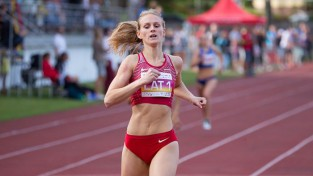 Latiševa-Čudare labo Latvijas rekordu 300 metros