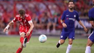 """""""Bayern"""" pēc 0:4 pret """"Milan"""" pirmajās 27 minūtēs sasit trīs vārtus """"Chelsea"""""""