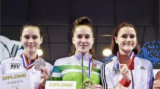 """Māsām Tarvidām viens panākums Maskavas """"Grand Prix"""""""