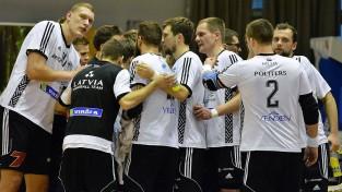 Latvijas vīriešu handbola izlasei 22. vieta EHF rangā