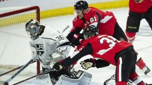 """""""Senators"""" iemet piecus uzvarā pret Losandželosu, Makdeivids velk """"Oilers"""""""