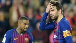 """""""Barcelona"""" bez Mesi kapitulē Seviljā, Karaļa kauss slīd no rokām"""