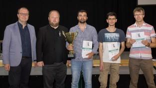 """""""RTU Open 2019"""" šaha festivālā uzvar Latvijas lielmeistars Igors Kovaļenko"""