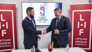 """Buncis: """"PČ Rīgā nevar notikt bez skatītājiem, Somija arī būs mājas komanda"""""""