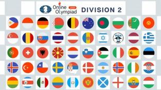 FIDE tiešsaistes olimpiādē Latvija debitē ar četrām uzvarām