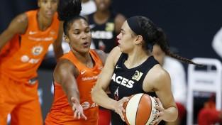 """WNBA pārceļ """"play-off"""" spēli neprecīzo testu dēļ, """"Sun"""" 1-0 pret """"Aces"""""""
