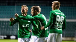"""Tallinas """"Flora"""" sasniedz Eiropas līgas """"play-off"""""""" kārtu, Fēru salu klubs grauj ar 6:1"""
