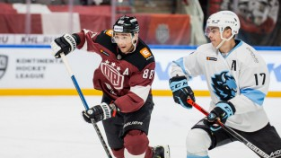 """Debitējot sešiem junioriem un trim leģionāriem, """"Dinamo"""" pieveic Minsku"""