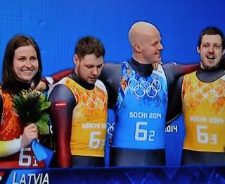 Foto: Uzgavilējam! Latvijai otrā bronza!
