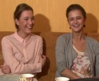 """Video: Aktrises Madara Botmane un Anta Aizupe :""""Mēs gribam kaut ko mainīt teātrī..."""" Videointervija"""