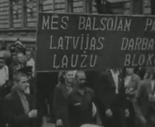 Video: Kā tas bija? 1940. gada 14. jūlijā Latvijas iedzīvotāji <i>vienprātīgi nobalso</i> par jauno iekārtu
