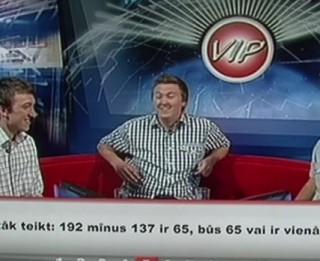 Video: VIP dalībnieki piedzīvo visu laiku lielāko izgāšanos prāta spēlēs Latvijā