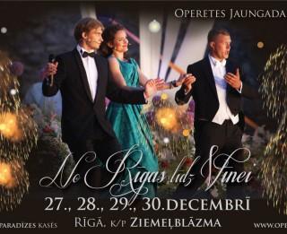 Latvijas operetes fonds gadu noslēgs ar četriem Jaungada koncertiem