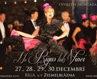 Svinēsim svētkus ar opereti četros Operetes Jaungada koncertos (+video)
