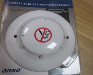 PTAC brīdina par dūmu detektora imitāciju, kas neveic brīdinājuma funkciju