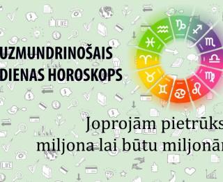 Uzmundrinošie horoskopi 16. janvārim