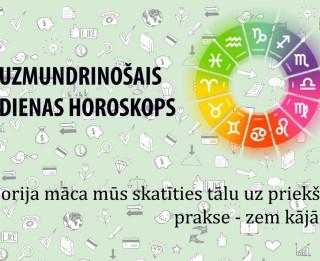 Uzmundrinošie horoskopi 20. janvārim