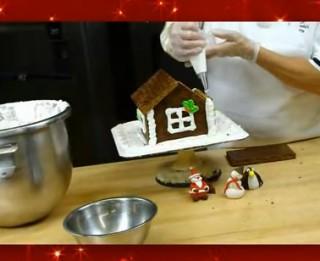 Videopadoms – kā pagatavot piparkūku mājiņu
