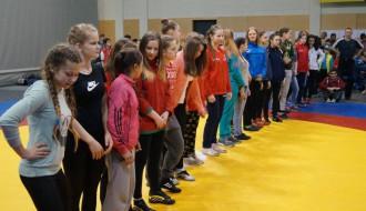 Foto: Latvijas cīņas kadeti medaļas sadala Daugavpilī