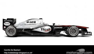 Foto: F1 nostaļģija - mūsdienu mašīnas vēsturiskā izskatā