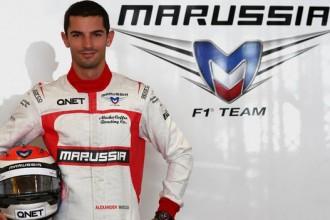 """""""Marussia"""" komanda pārdod sava pilota Čiltona vietu amerikānim Rosi"""